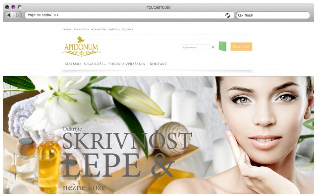 Apidonum: Izdelava odzivne spletne trgovine (responsive)