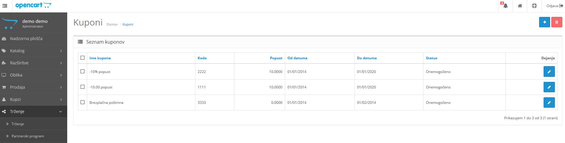 Kuponi-Opencart-nastavitve-Touchstudio-izdelava-spletnih-strani