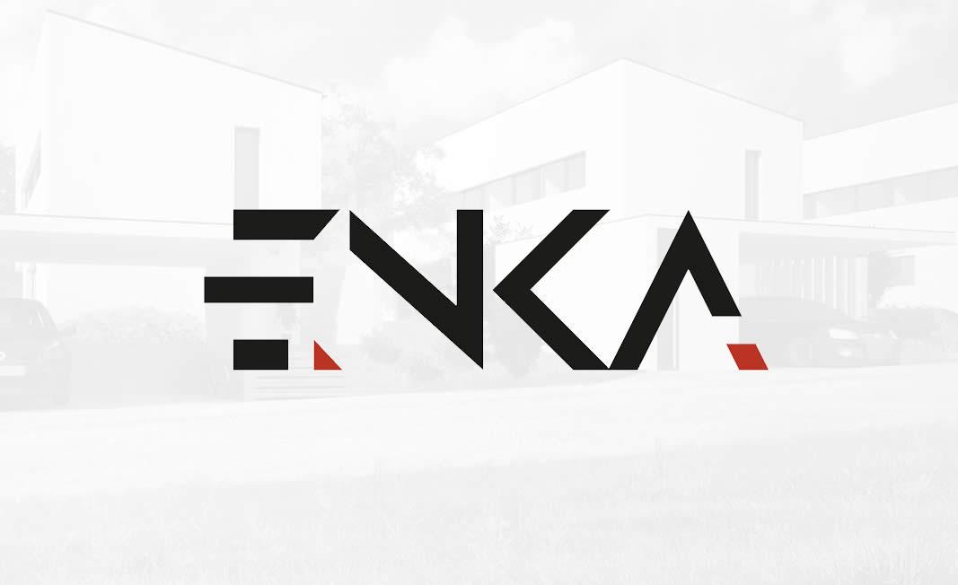 Oblikovanje logotipa Arhitektura ENKA
