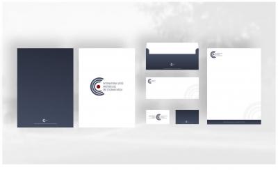 Oblikovanje Mini Celostne grafične podobe za Masterclass Ebe Stignani (vizitka, dopisni listi, kuverta, vizitka)