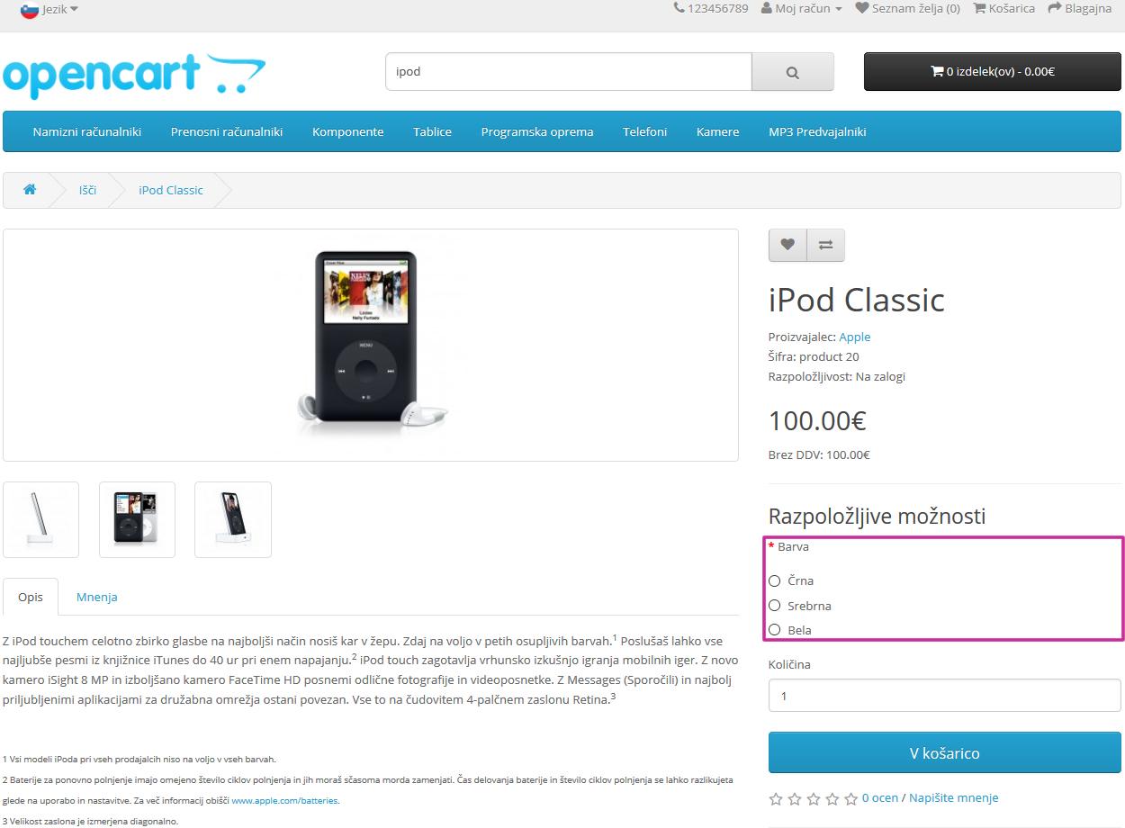 moznosti-izdelkov-opencart-touchstudio-izdelava-spletnih-strani-zelo-ugodno
