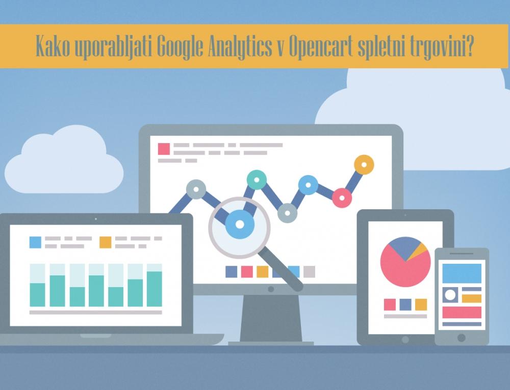 Google Analytics za Opencart trgovino