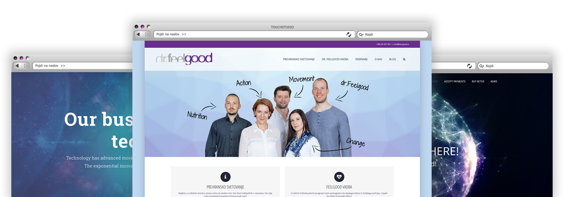 Izdelava spletnih strani s samostojnim urejanjem