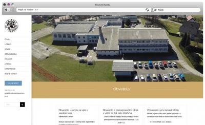 Izdelava spletne strani OŠ Predoslje, Kranj
