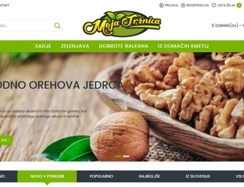 Moja Tržnica Maribor – Izdelava spletne trgovine