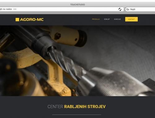 Izdelava spletne strani Agoro MC