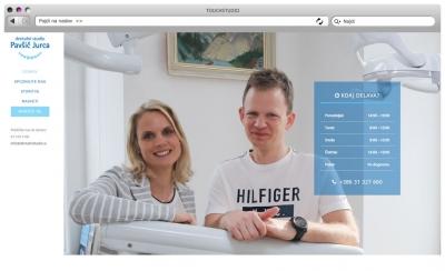 Izdelava spletne strani dentalnistudio.si