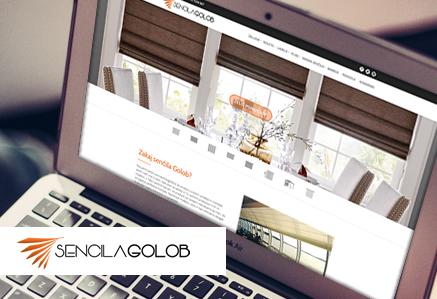 izdelava spletnih strani samostojno urejanje senčila golob touchstudio
