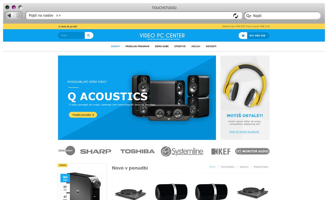 Izdelava spletne trgovine Hi-Fi