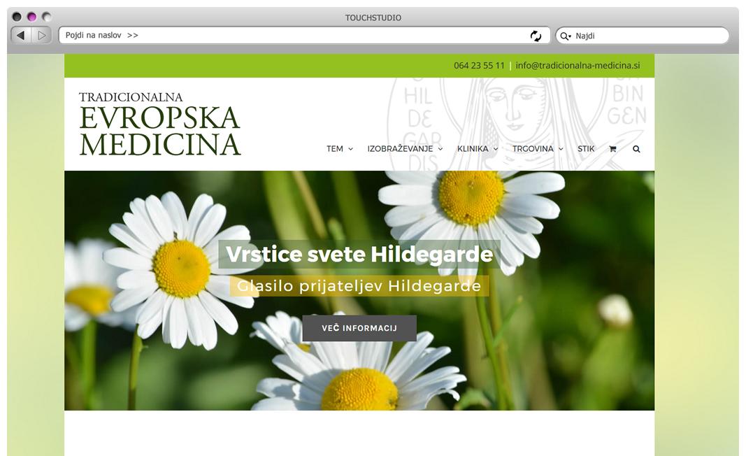 Spletna trgovina in blog Tradicionalna evropska medicina