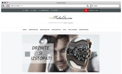 Prenova spletne trgovine modneure.com