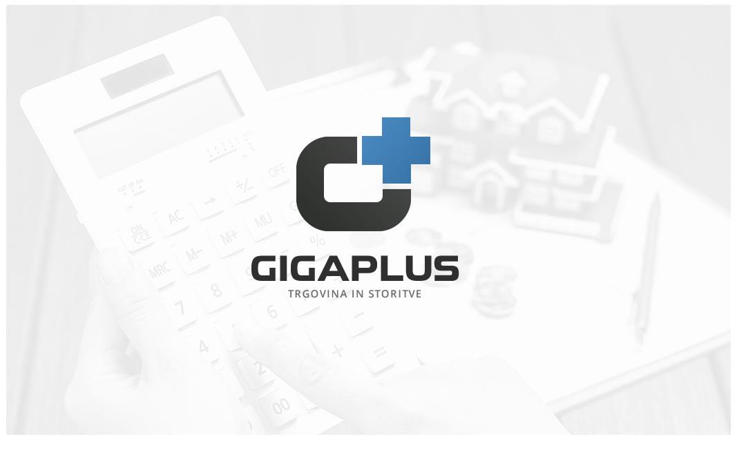 Oblikovanje logotipa gigaplus