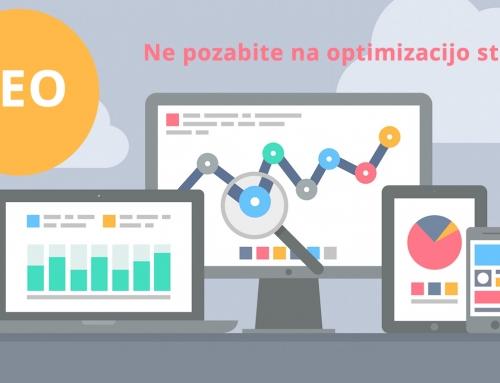 Izdelava spletnih strani naj ne zanemari optimizacije