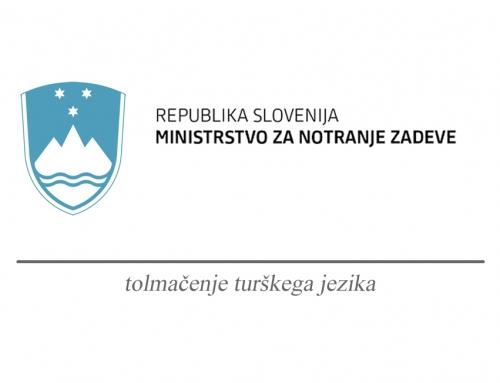 Ministrstvo za notranje zadeve Republike Slovenije