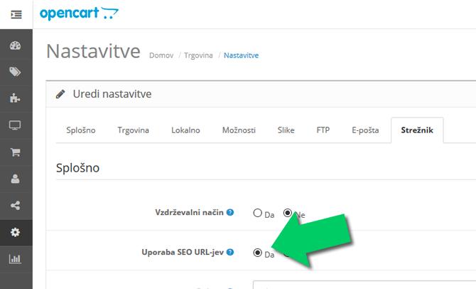 optimizaciji prijazni url naslovi