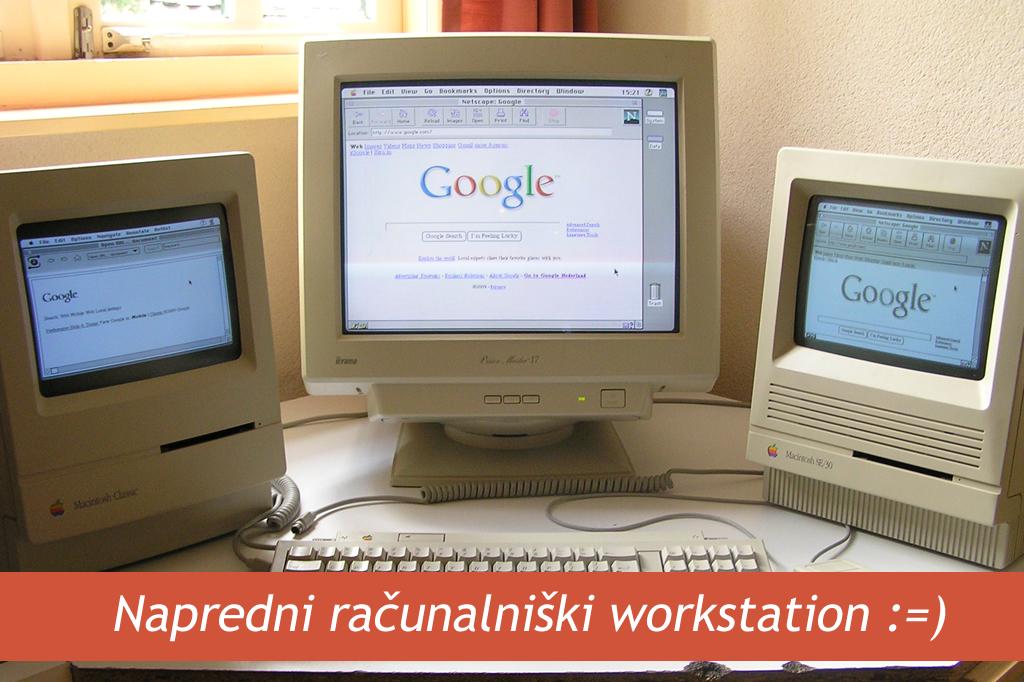Kako je svet izgledal brez spletnih strani in Googla? Leto 1994.